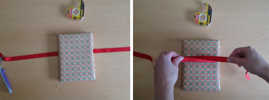 Long wrapped ribbons gallery for How to tie a ribbon on a bookmark