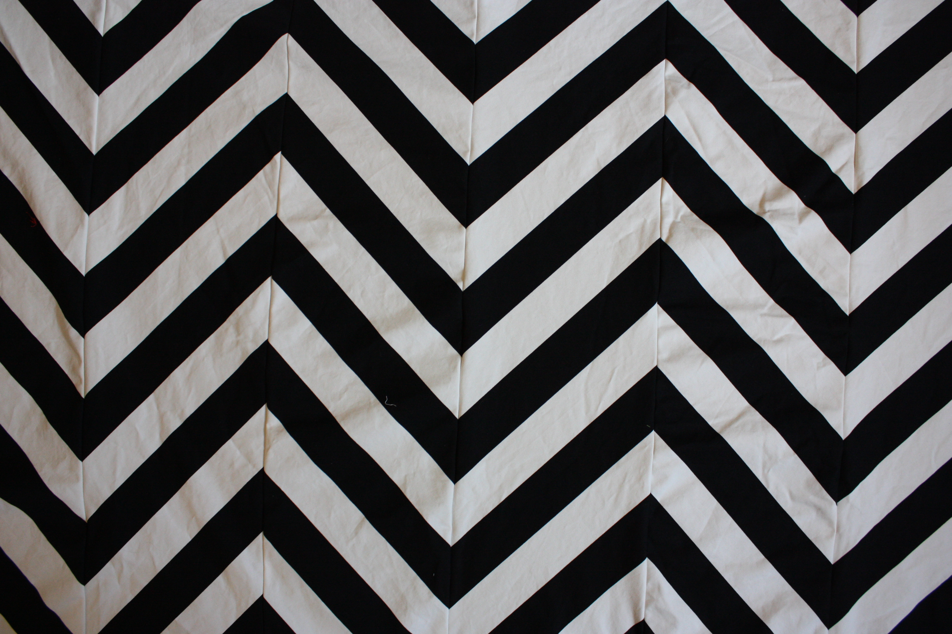 Simple bed sheets pattern - This Project Is Seriously Simple A Good Staple Gun Is All You Need Ours Was Tedious Because I Took The Time To Sew Striped Fabric Into A Chevron Pattern