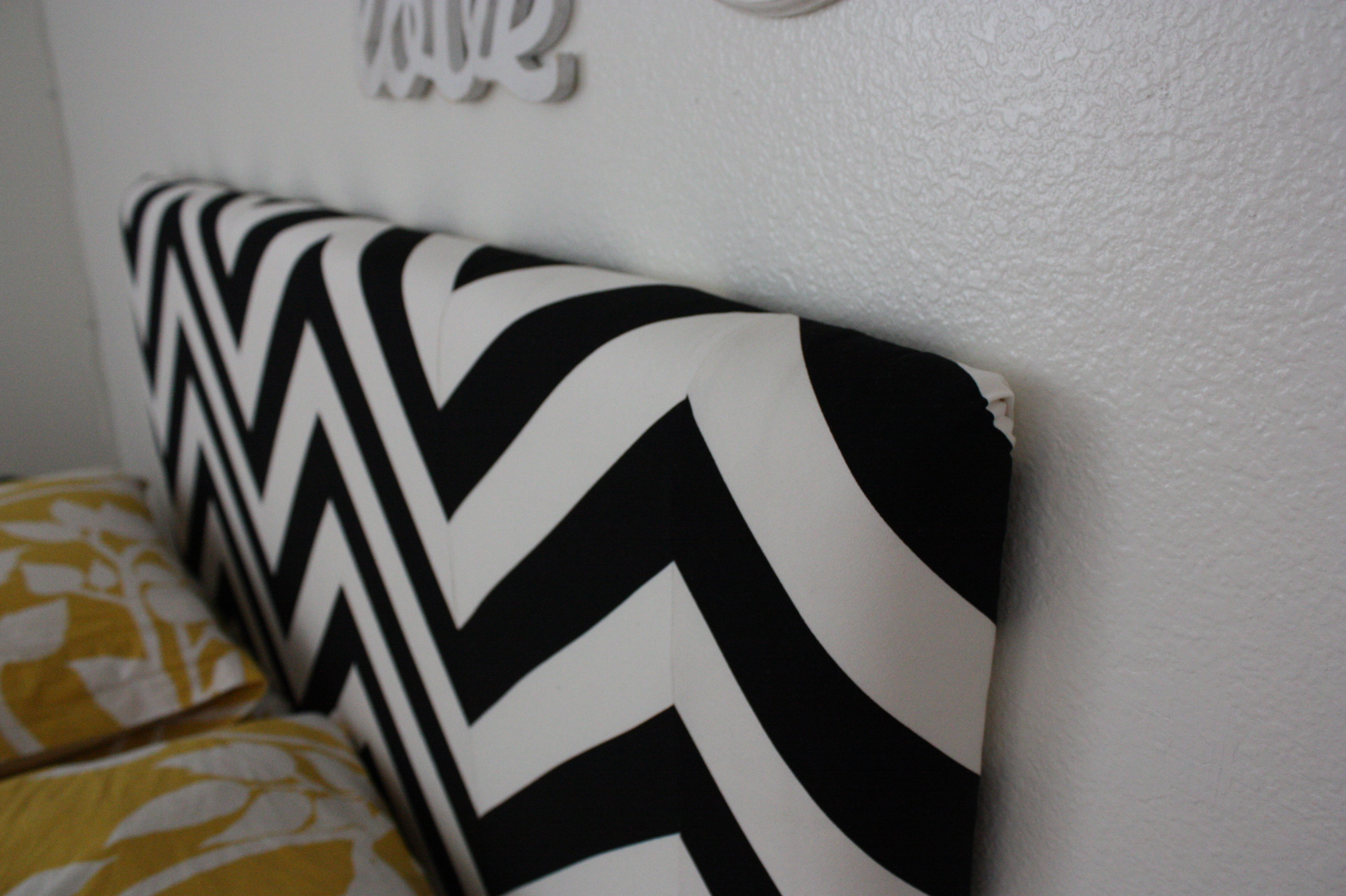 How to cover a headboard - Enjoy It By Elise Blaha Cripe Headboard Project The Results Headboard Designs