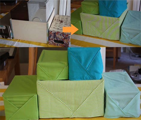 Wrapped-boxes