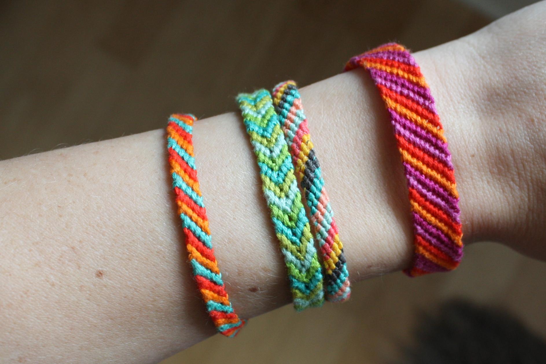 enJOY it by Elise Blaha Cripe: friendship bracelets / summer story two.