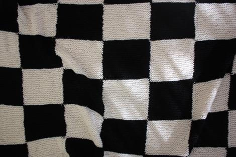 Checkerboard Knitting Pattern Blanket : enJOY it by Elise Blaha Cripe: project 24 of 26 : a ...