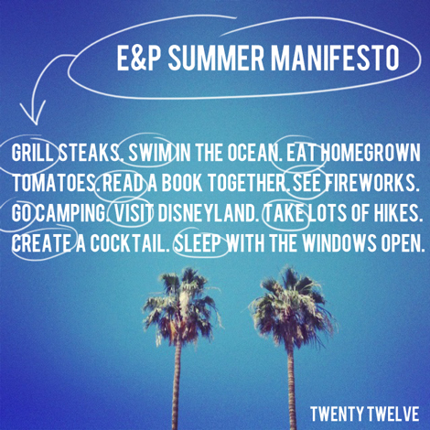 Summermanifesto