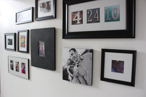 enJOY it by Elise Blaha Cripe: on our walls / framing photos.