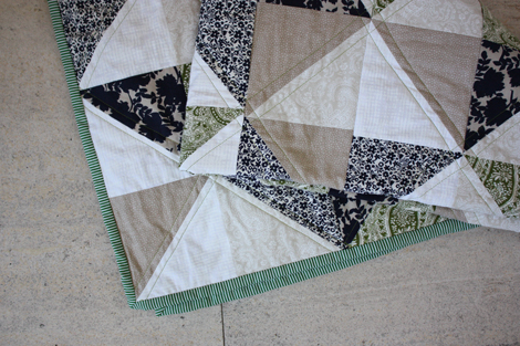 Enjoy It By Elise Blaha Cripe How To Make A Triangle Quilt