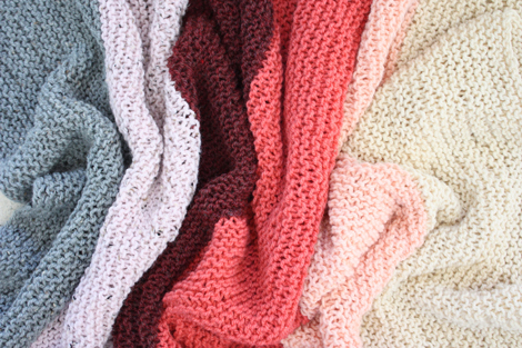 Easy Knit Blanket How To : EASY LOOM KNITTING BABY BLANKET Free Knitting Projects