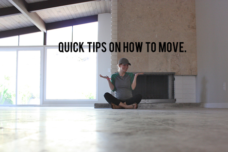 Quick Tips on How to Move
