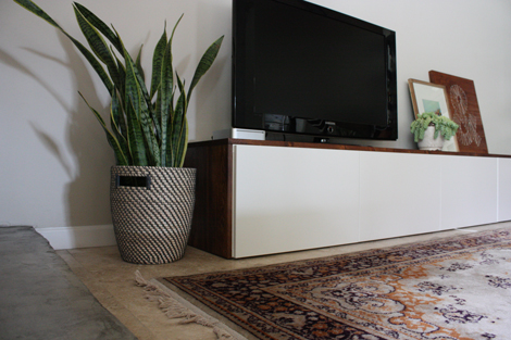 Elise Blaha :: enJOY it.: DIY media cabinet.
