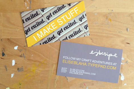 Enjoy it by elise blaha cripe big small business changes cards colourmoves