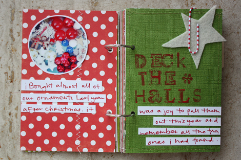 Elise Blaha December Holiday Minibook