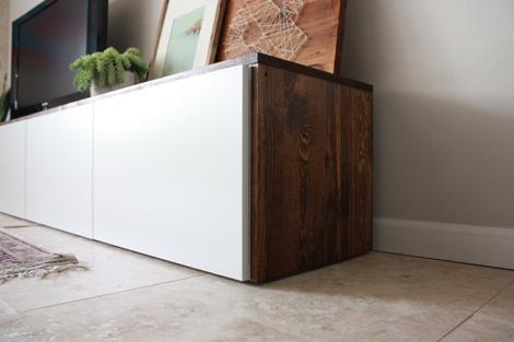 wood media cabinet plans