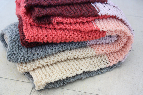 Enjoy It By Elise Blaha Cripe Another Knit Blanket For Baby Girl