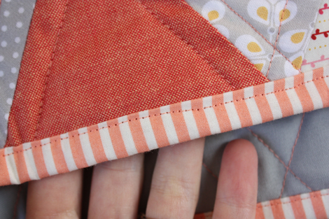 enJOY it by Elise Blaha Cripe: quilt for the baby girl. : hand sew quilt - Adamdwight.com