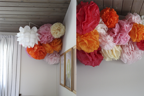 Enjoy It By Elise Blaha Cripe Tissue Paper Pom Poms For The Tiny One