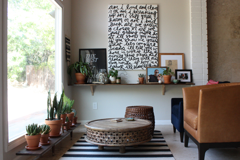 EnJOY It By Elise Blaha Cripe DIY Decor - West elm carved wood side table