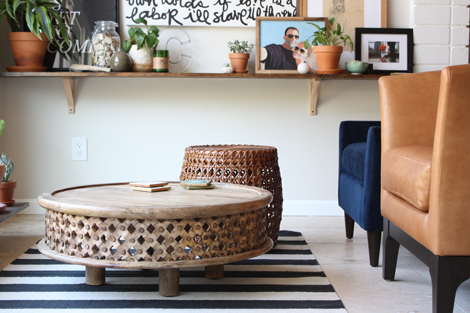 EnJOY It By Elise Blaha Cripe My Favorite Place In The House - Super low coffee table