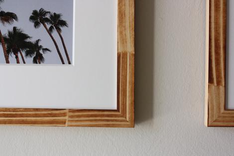enJOY it by Elise Blaha Cripe: frames in our entryway.