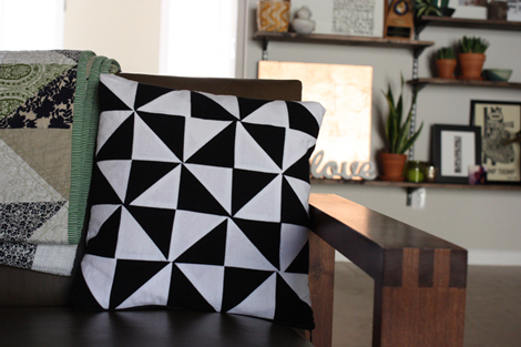 Trianglepillow