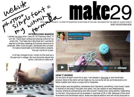 Make29webpage