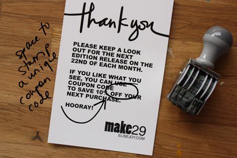 Make29thankyous