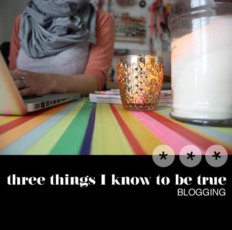 Threethingsblogging