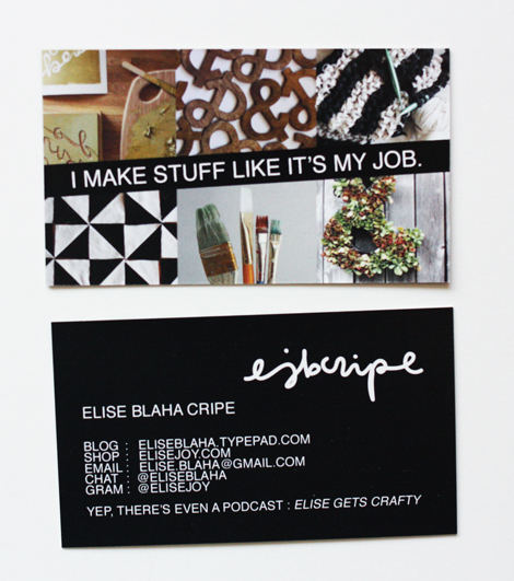 Enjoy it by elise blaha cripe new business cards the backside holds all my info paul was like whats gram and thats when i realized i really need someone to check my work before i send it off to the colourmoves