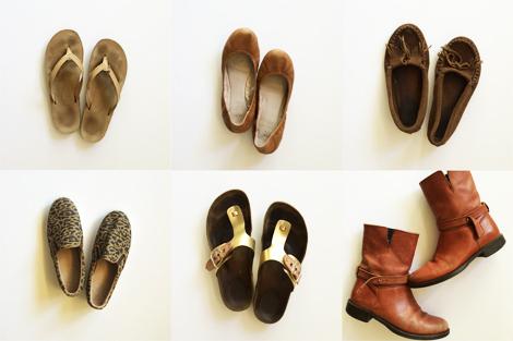 autumn capsule wardrobe shoes