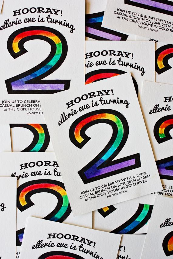 enJOY it by Elise Blaha Cripe Elleries rainbow birthday party