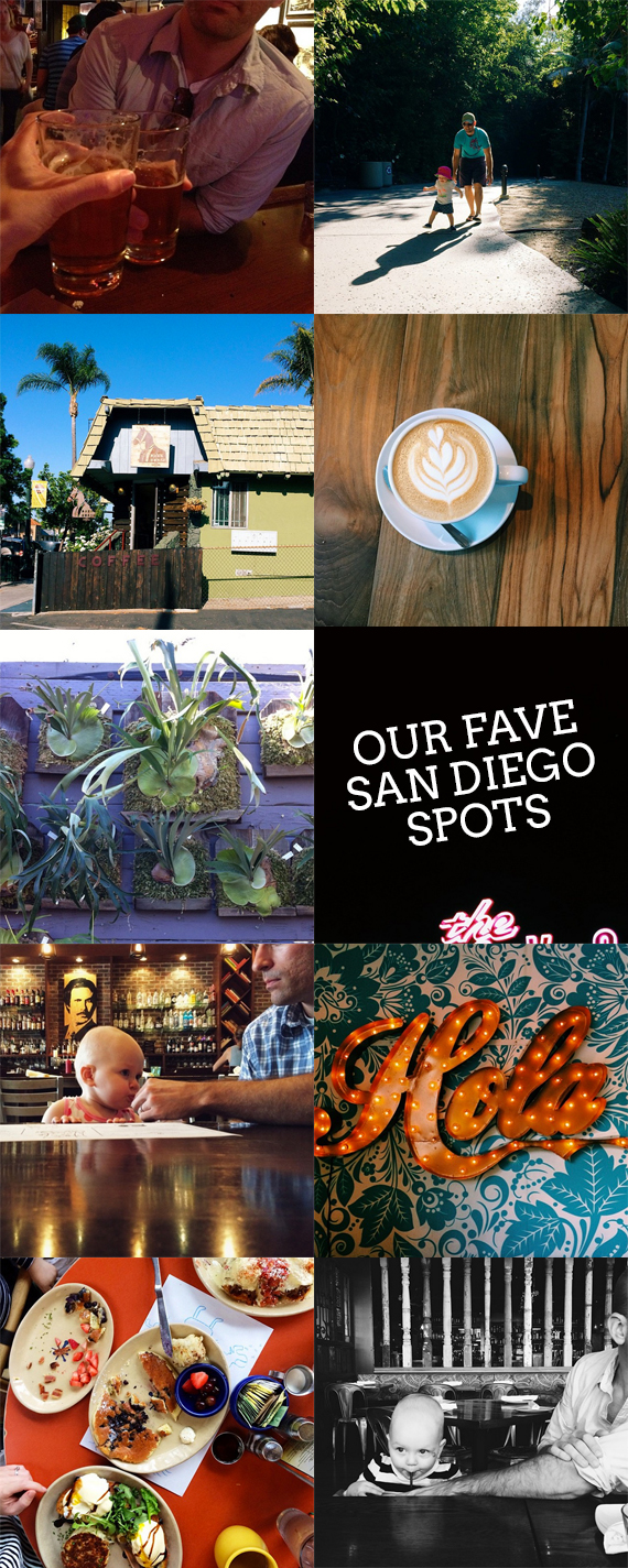 our favorite San Diego spots