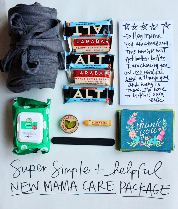 new mama care package