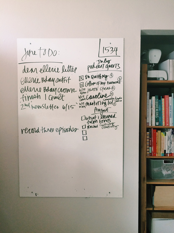 I Shared A Peek At My New(ish) Office Whiteboard In A Photo On Instagram  This Week And Wanted To Provide Some Details Here. Iu0027ve Been Wanting A Big  Board ...