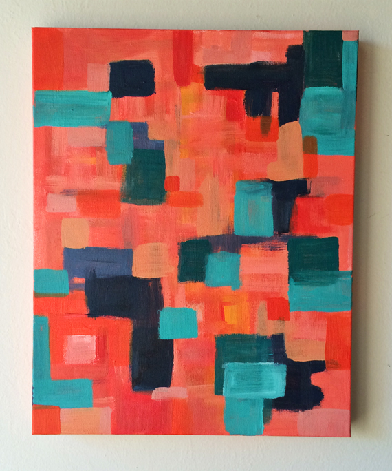 abstract painting at elisejoy.com