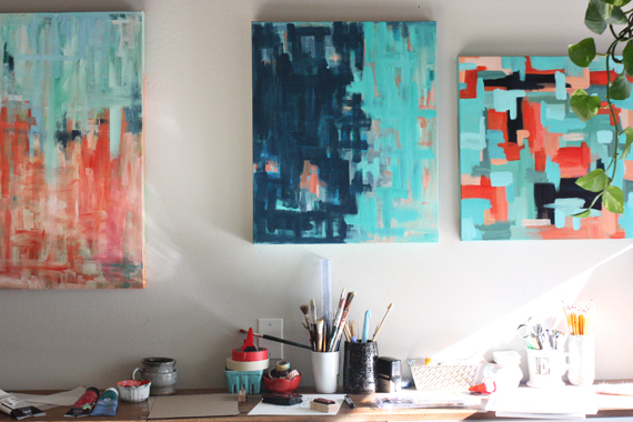 abstract paintings at elisejoy.com