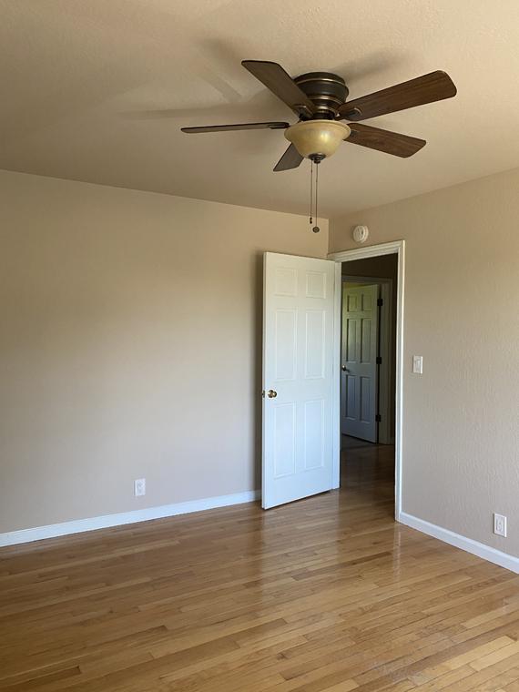 Bedroom floor before