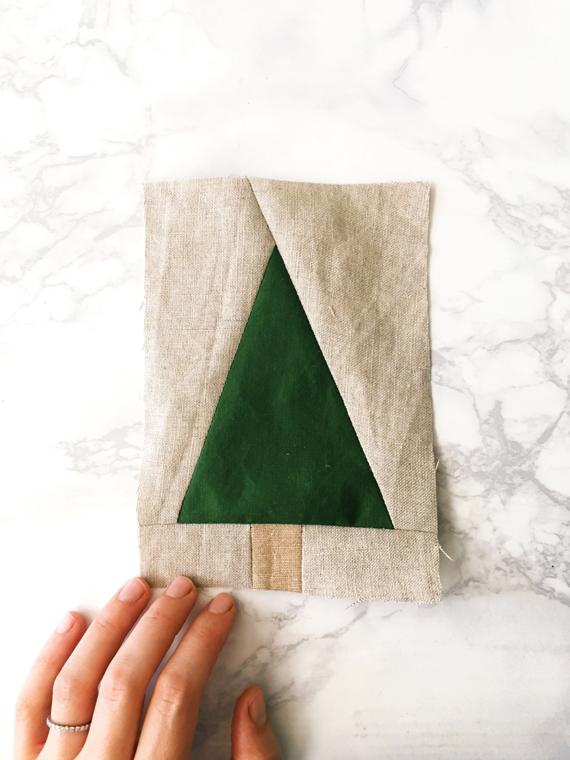 Modern-tree-quilt