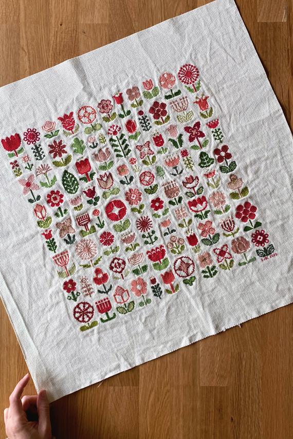 15 x 15 cross stitch